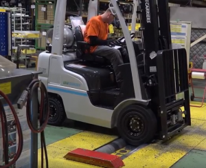 UniCarriers Forklift Redefined Video Cap